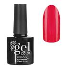 Гель-лак для ногтей, светится в темноте, трёхфазный LED/UV, 10мл, цвет 03 розовый неон