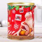 Коробка‒тубус подарочная «От Дедушки Мороза», 12 × 15 см