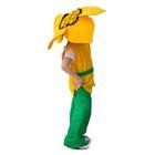 """Карнавальный костюм """"Подсолнух"""", шляпа, кофта, пояс, штаны, 3-5 лет, рост 104-116"""