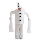 Карнавальный костюм «Пьеро», шляпа, кофта, штаны, рост 170 см