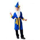 """Карнавальные костюмы """"Старик Хоттабыч"""", шляпа, борода, халат, пояс, 5-7 лет, рост 122-134"""