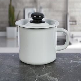 1 L mug with lid