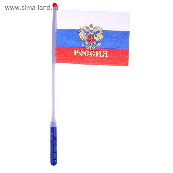 """Палочка светящаяся """"Флаг России"""""""