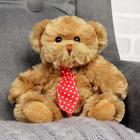 """Мягкая игрушка """"Медвежонок в галстуке"""", 15 см, МИКС"""