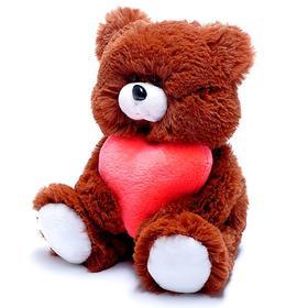 Мягкая игрушка «Медведь» с сердцем, МИКС