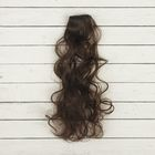 """Волосы - тресс для кукол """"Кудри"""" длина волос 40 см, ширина 50 см, №4А"""