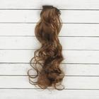"""Волосы - тресс для кукол """"Кудри"""" длина волос 40 см, ширина 50 см, №8В"""