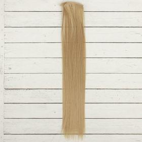 Волосы - тресс для кукол «Прямые» длина волос: 40 см, ширина:50 см, №16