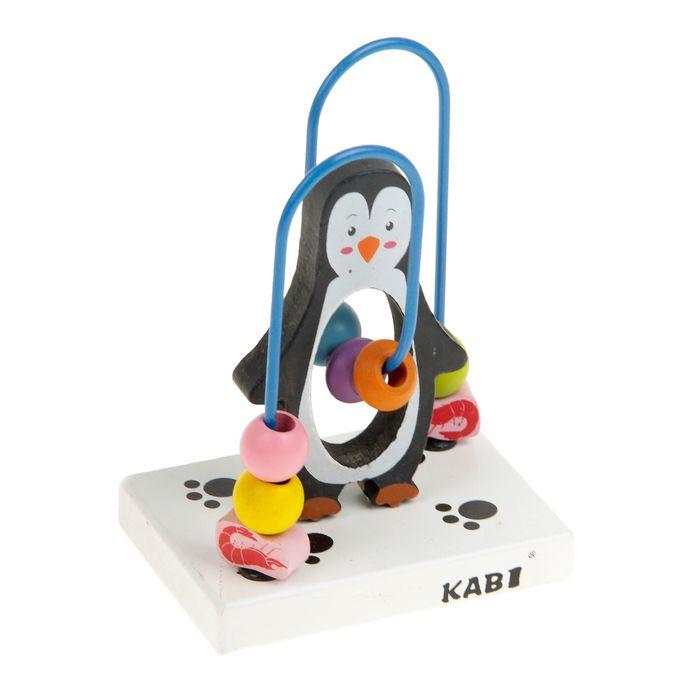 """Серпантинка-лабиринт с фигуркой """"Пингвин"""""""