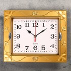 "Wall clock, series: Classic, ""Cassandra"", 21.5x18 cm, mix"