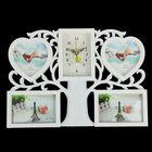 "Wall clock, series: the Photo, the ""Tree of life"", 4 frames, 44х31 cm"
