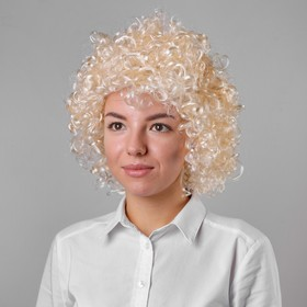 Карнавальный парик «Блондинка», короткие волосы, 120 г