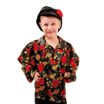 Цыганская рубаха, рост 122-128 см