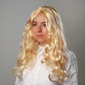 Карнавальный парик «Блондинка», длинные волосы, 140 г в Донецке