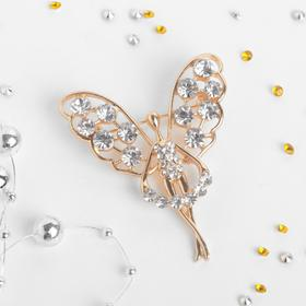 "Brooch ""Fairy magic"", white gold"