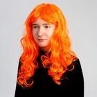 """Парик """"Мокрый карвинг"""", длинные волосы, цвета МИКС"""