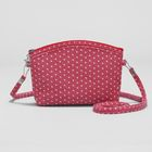 Bag children's Department with zipper, long strap, color red