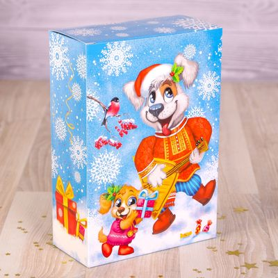 Коробка складная «Русские забавы», 16 х 23 х 7,5