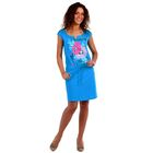 Платье женское Лера цвет бирюзовый, р-р 44