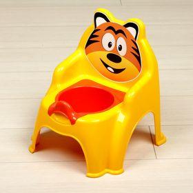 Горшок-стульчик «Тигра», цвет жёлтый