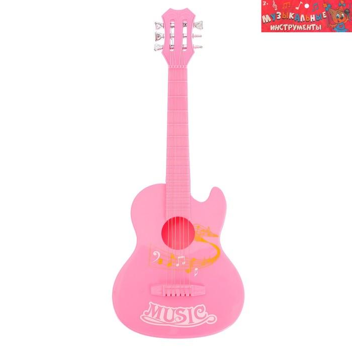 Музыкальная игрушка гитара «Мелодия», МИКС