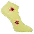 Носки женские, цвет жёлтый, размер 23-25
