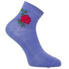 Носки женские, цвет голубой, размер 23-25