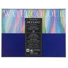 Альбом для акварели B4, 300х400 мм, хлопок + целлюлоза, 20 листов на склейке Fabriano, 300 г/м²