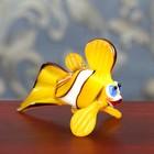 """Сувенир из стекла миди """"Рыба"""", 8 х 4,5 х 4 см"""