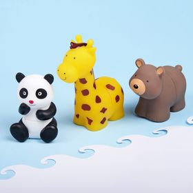 Игрушка-пазл для ванны «Зоопарк», набор 3 шт.