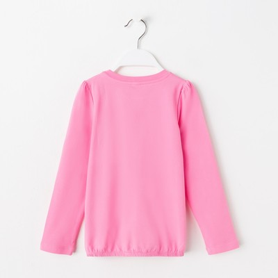 Джемпер для девочки, рост 98 см, цвет розовый