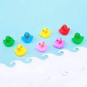 Набор пищалок для ванны «Утята», 8 шт., цвета МИКС