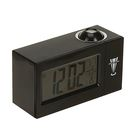 Часы-будильник LuazON LB-13, с проектором, вход DC, черный