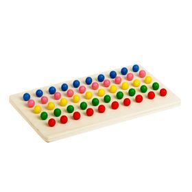 Mosaic,5 colors , 50 elements, the balls d— 0.7 cm