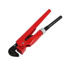 Ключ трубный LOM, рычажный, №1, раскрытие губ 10-35 мм, 90°, прямые губы