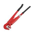 Ключ трубный LOM, рычажный, №0, раскрытие губ 5-27 мм, 90°, прямые губы