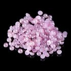 Pearl beads for decoration of nails, 2G, color purple