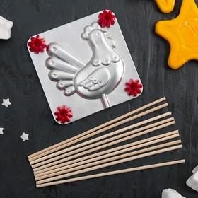 Набор для приготовления леденцов и мармелада «Курочка Ряба», цвет МИКС