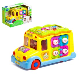 Развивающая игрушка «Автобус», световой и звуковой эффект
