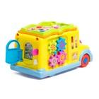 Развивающая игрушка «Автобус», световой и звуковой эффект - фото 105527654
