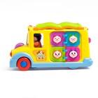 Развивающая игрушка «Автобус», световой и звуковой эффект - фото 105527656