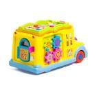 Развивающая игрушка «Автобус», световой и звуковой эффект - фото 105527657