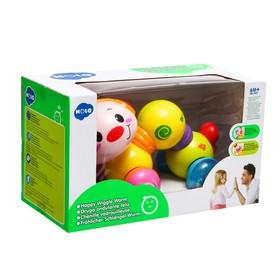 Игрушка музыкальная «Гусеница», световые и звуковые эффекты - фото 7410401