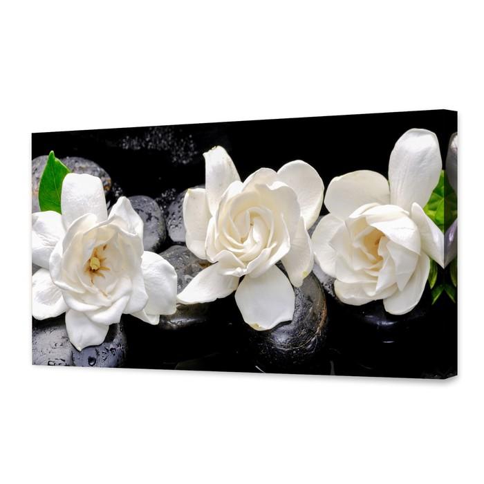 """Картина на подрамнике """"Белые цветы"""""""