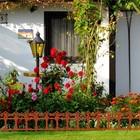 Ограждение декоративное, 33 × 267 см, 7 секций, пластик, терракотовое, «Роскошный сад» - фото 106983462