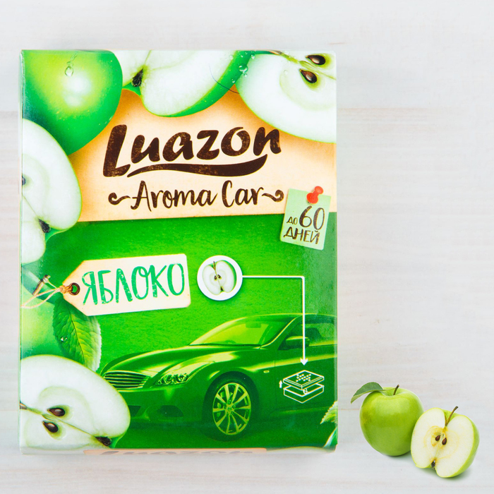 """Ароматизатор под сиденье авто """"Aroma Car"""", яблоко"""
