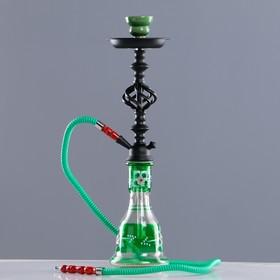 "Hookah ""Busiris"", 53 cm, 1 tube, green"