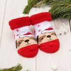 новогодние детские носки