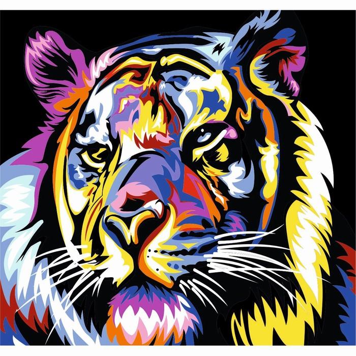 """Фреска """"Тигр"""" K-212  А3"""