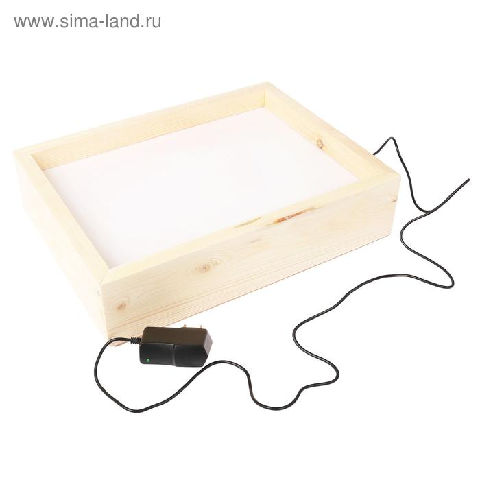 Стол-планшет для рисования песком, белая подсветка